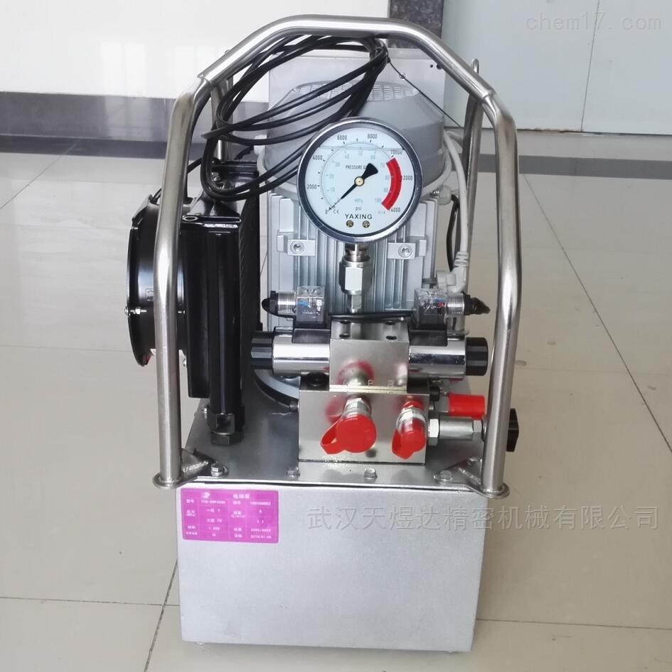 液压扭矩扳手电动泵 高强度铝钛合金