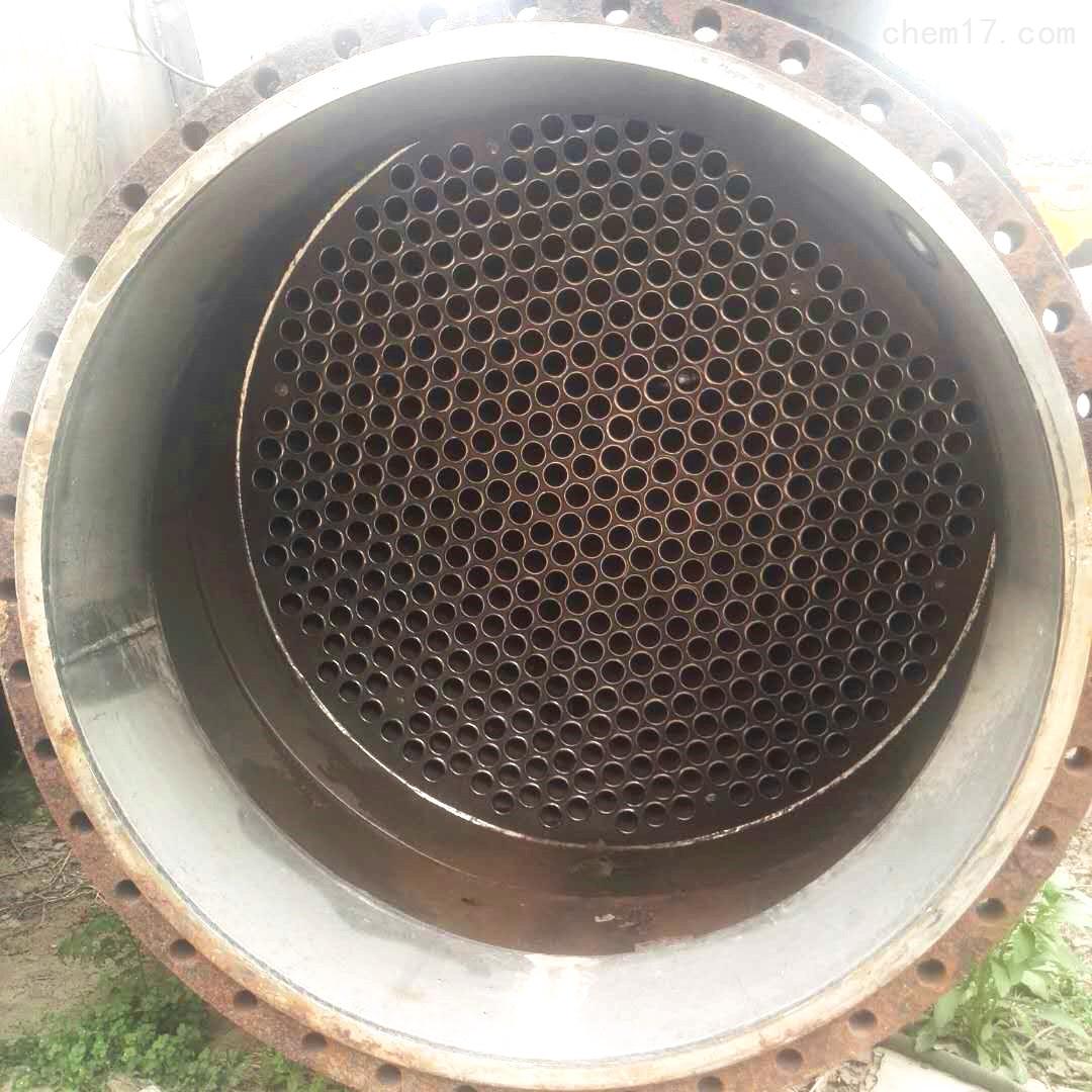 150平方二手列管式钛材质冷凝器优势和特点