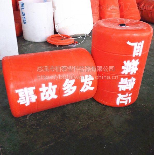 内江警示打桩固定拦污漂排