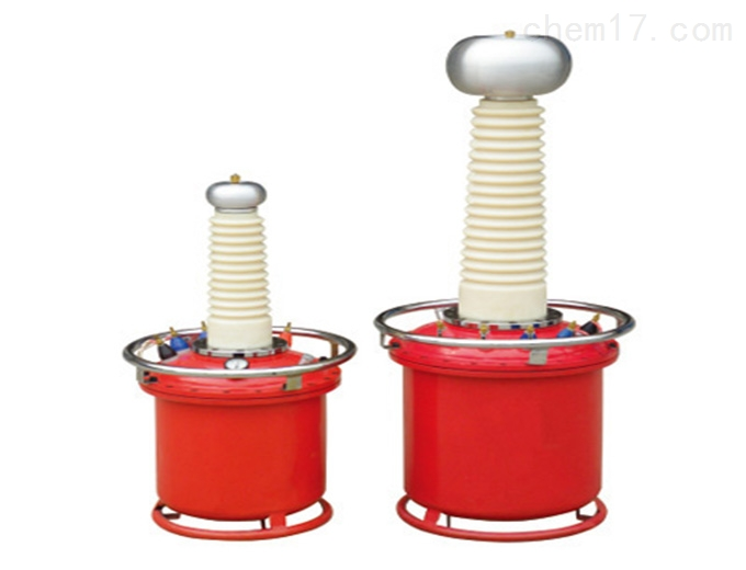 充气式高压试验变压器图片