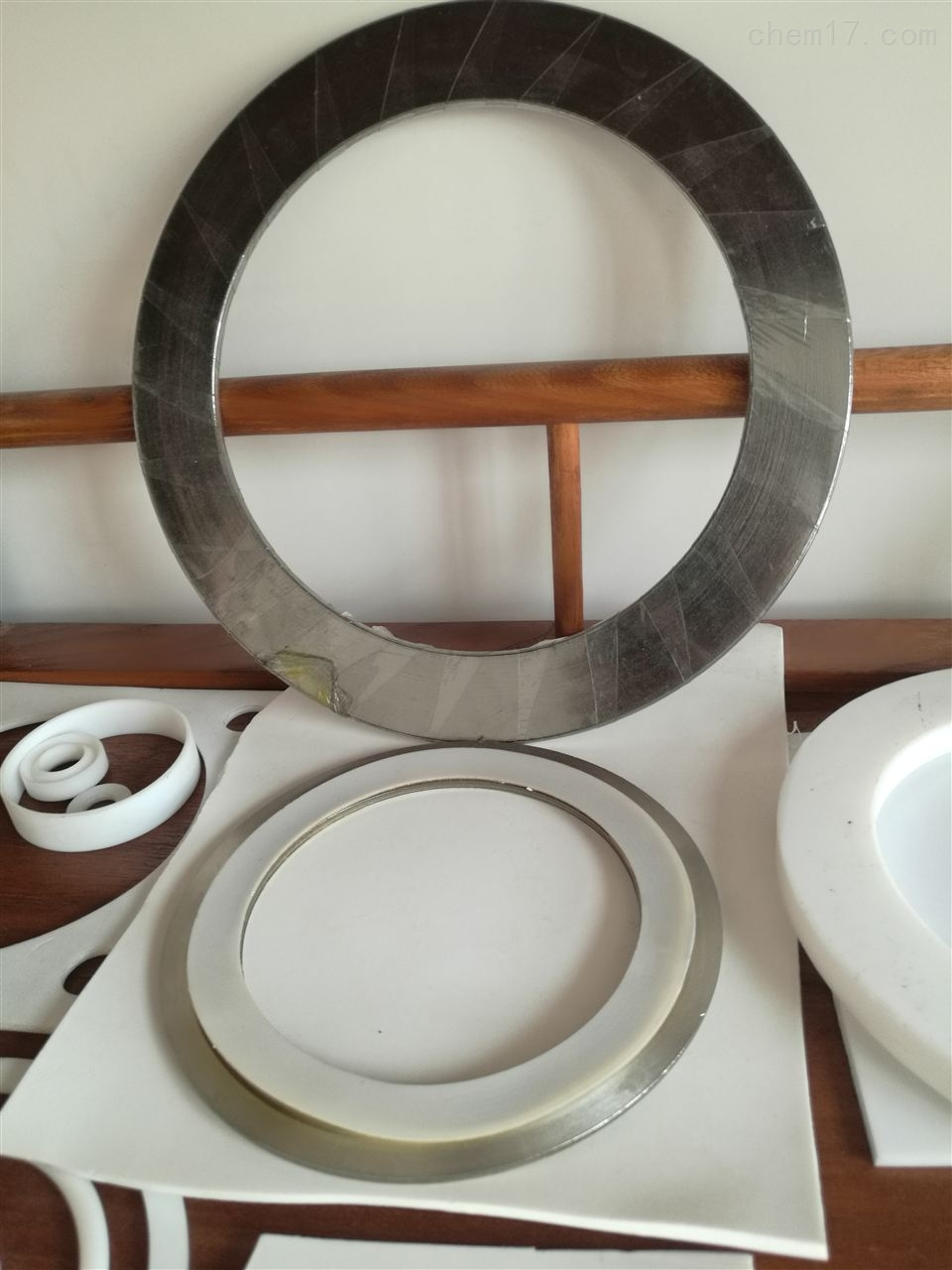 管道法兰式金属齿形垫片批发供应