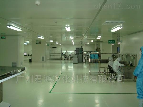 广州市黄埔区月饼食品厂10万级净化车间装修