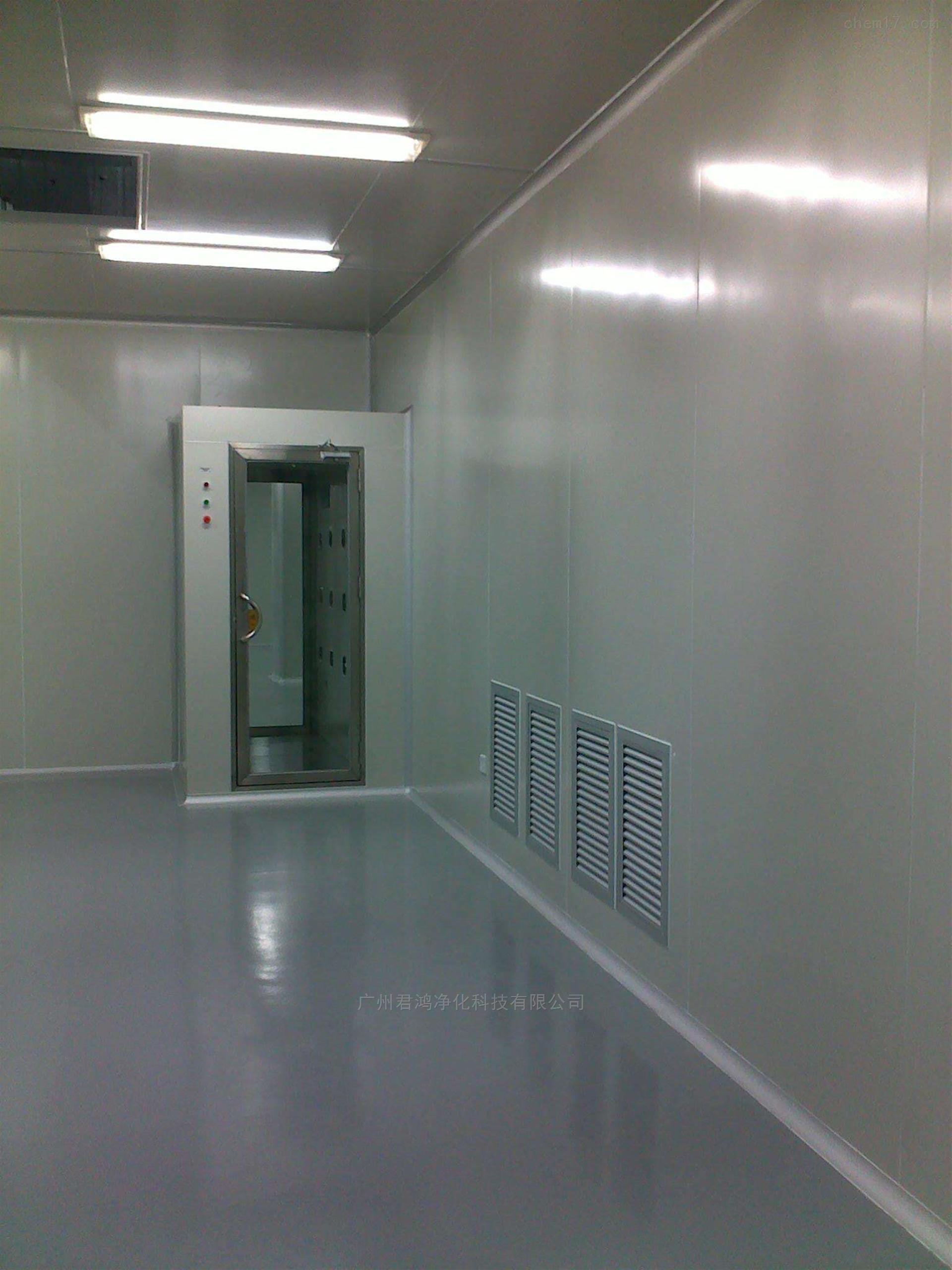 四会食品厂洁净车间彩钢板结构装修