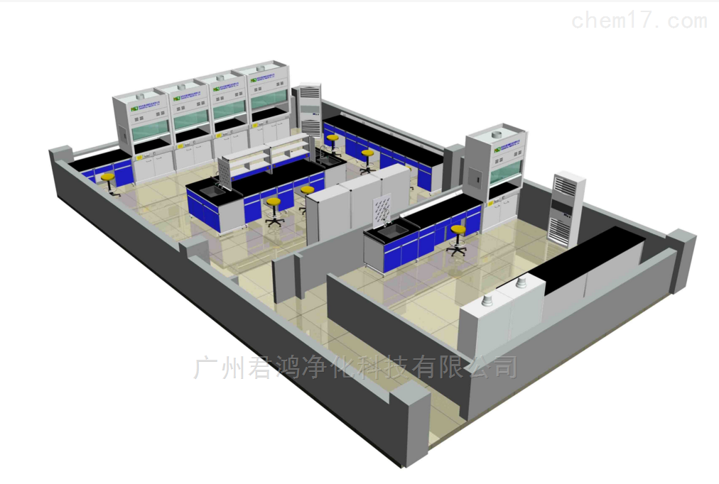 广州开发区化学质检实验室装修工程