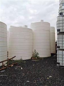 转让二手30吨PE塑料储罐价格低质量好