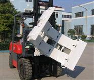 废纸厂叉车安装电子秤-3吨叉车废纸夹称重仪