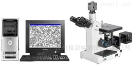 上海光学4XC-MS图像分析金相显微镜