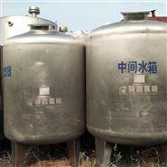 高价回收不锈钢乳品罐