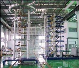 100~10000kV徒波雷电冲击电压试验装置