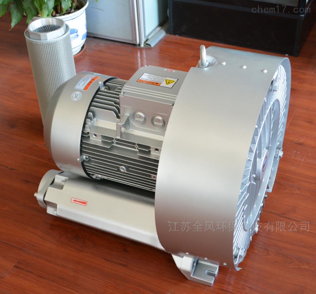 厂家直销鱼塘增氧曝气漩涡气泵 高压鼓风机
