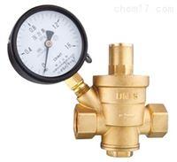 黃銅帶壓力表消聲減壓閥