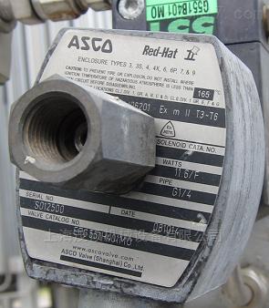 EFG551H401M0美国捷高ASCO电磁阀EFG551H401M0现货
