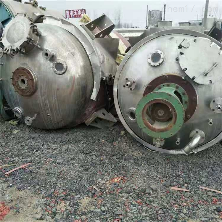 二手3吨搪瓷反应釜
