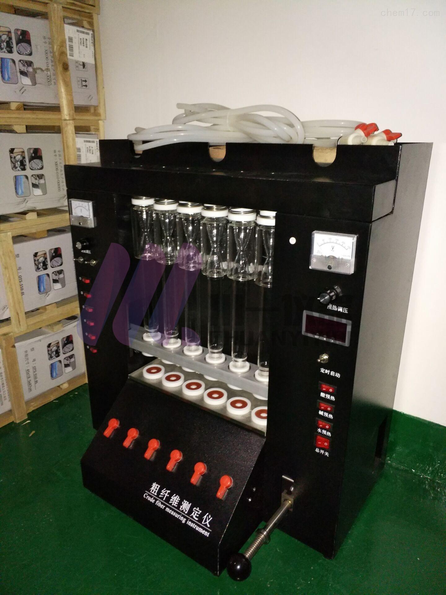 南京纤维测定仪CY-CXW-6木质素检测仪