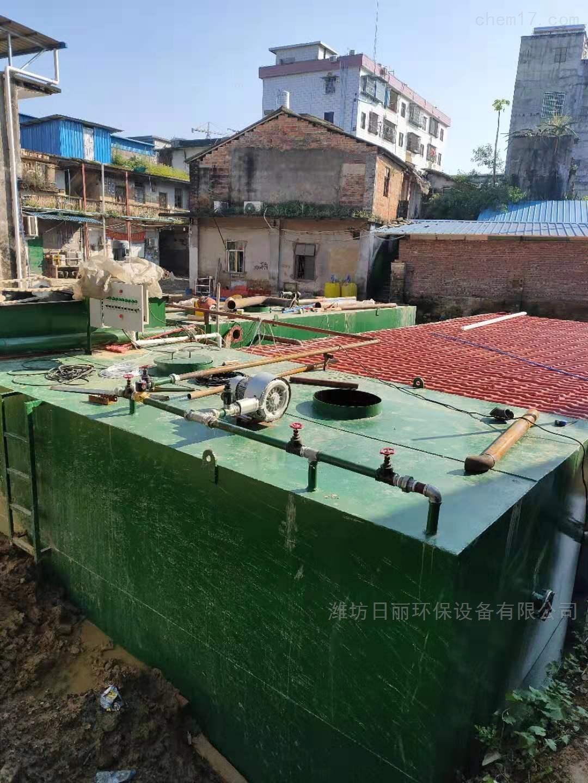 广西钦州市食品加工厂污水处理