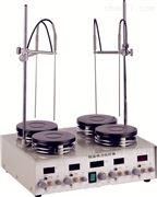 四工位数显恒温磁力搅拌器