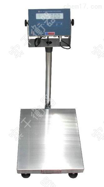 手推式带轮子电子台秤防爆防腐防油台秤