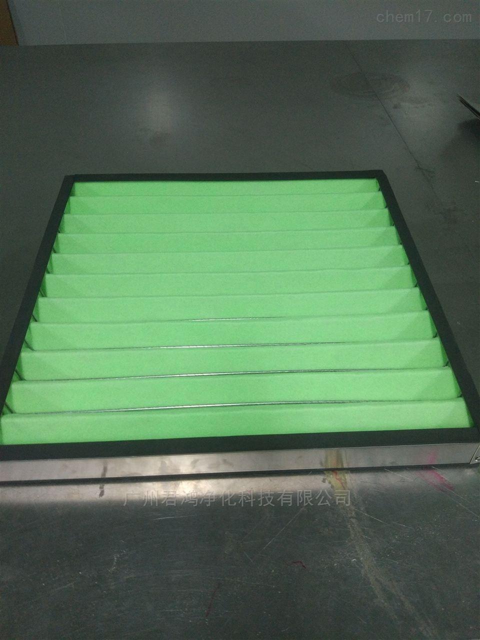 厂家供应重庆潼南县JH洁净室板式初效过滤器