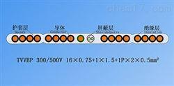 TVVB单芯排列带屏蔽扁形电梯电缆厂家推荐
