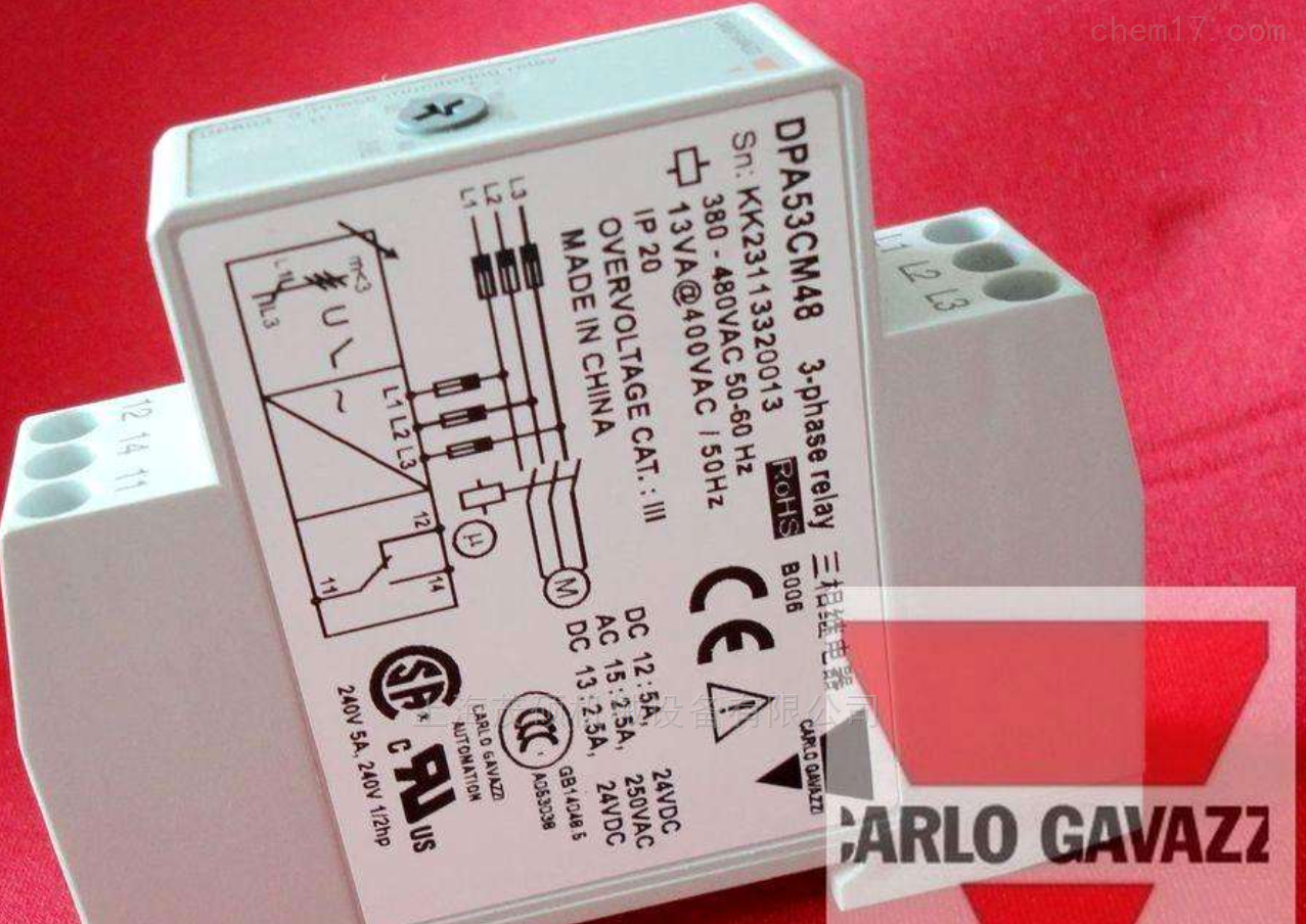 VPA1MPA-1瑞士Carlo Gavazzi VPA1MPA-1继电器现货