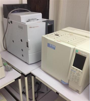 岛津2010、2014原装进口9成新岛津气相色谱仪