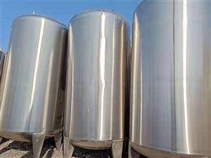 二手45立方卧式不锈钢储罐价格