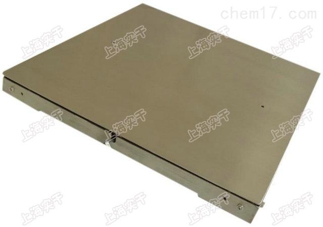 1吨3吨不锈钢电子地磅单层小地磅