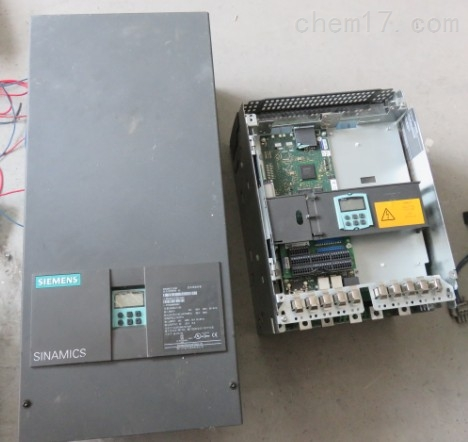 西门子6RA80变频器报警不启动维修