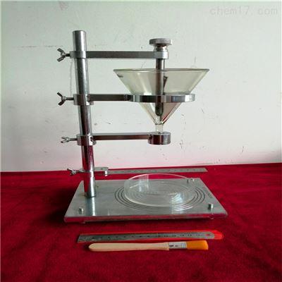 无粘性土休止角试验仪新品开发