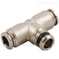 57200 4-M5/57200 4-1/8安耐aignep快插接头57200系列正T型锥螺纹