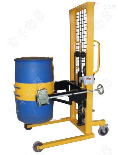 手动油桶倒桶车秤仓库码头专用带秤的搬运车