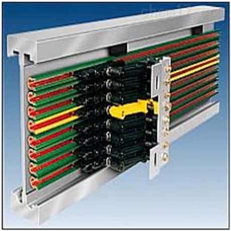 TBQHX-4H-100多极铜排板式滑触线