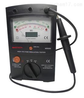 MS5202 指针绝缘电阻测试仪 2500V