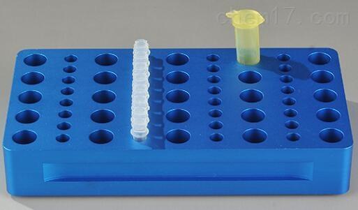 精铝制25孔2.0ML离心管和4排8连PCR管冷却板