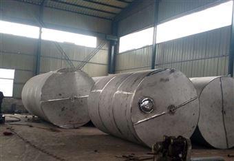 二手不锈钢储罐价格5吨立式储存罐长期供应