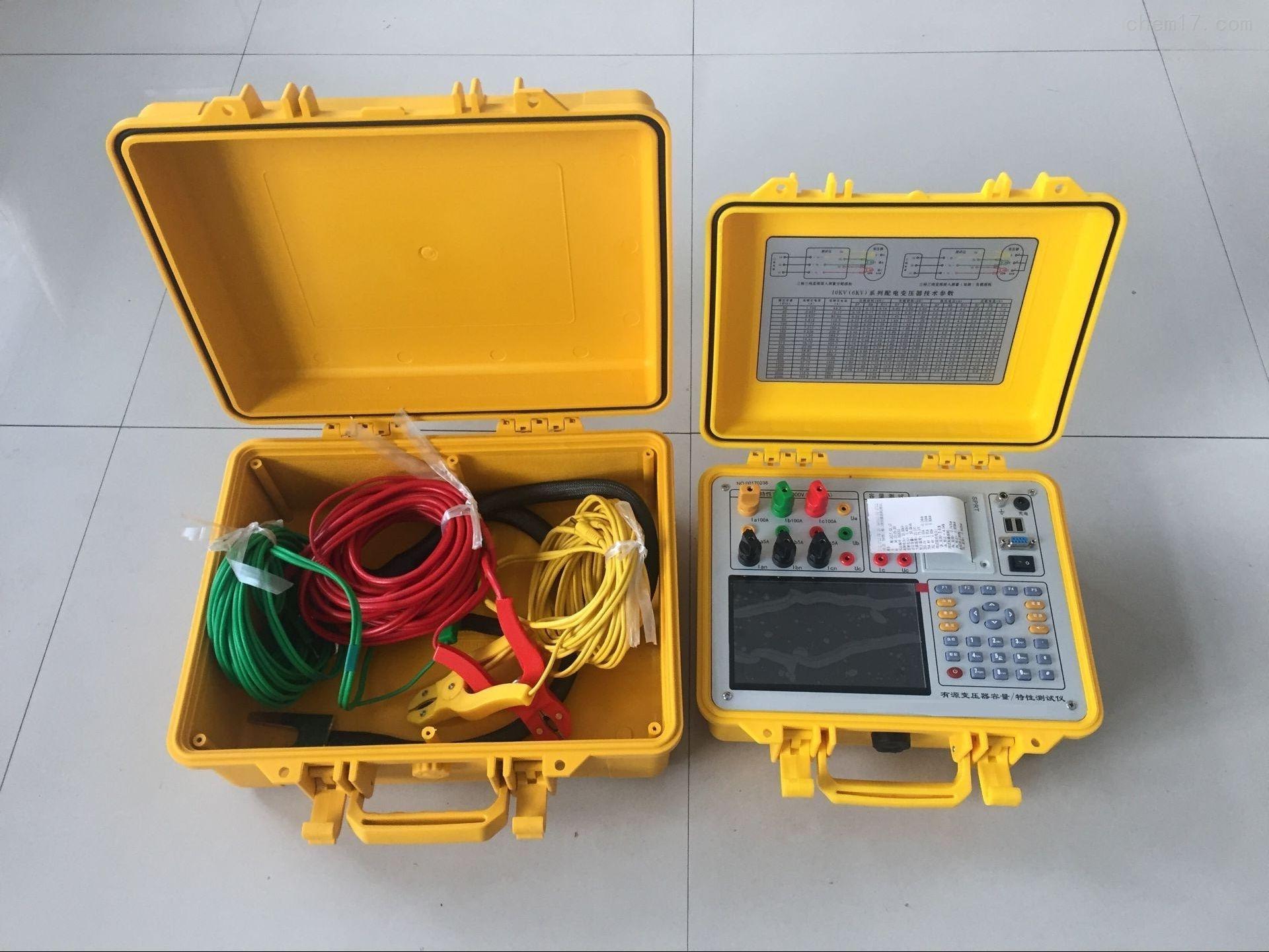 变压器容量特性测试仪原理
