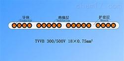TVVB单芯排列扁形电梯电缆生产厂家