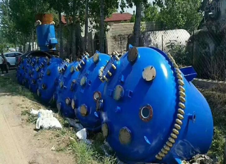 回收二手5吨不锈钢反应釜