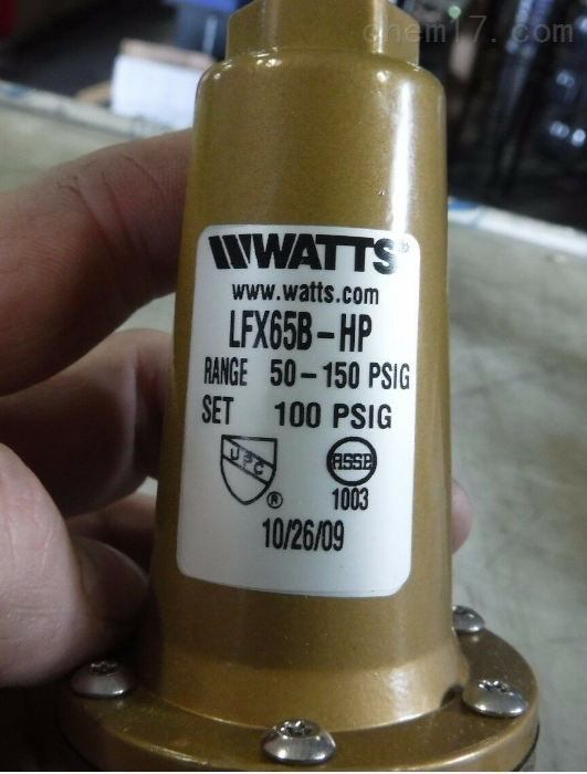 特价供应美国WATTS截止阀W-WB251型