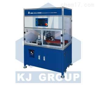 MSK-500-A18650圆柱型电池滚槽机