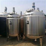 出售二手3吨电加热不锈钢反应釜