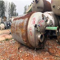 5吨二手5立方不锈钢反应釜供应