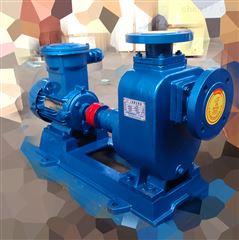 32ZW10-20防爆自吸排污泵 铸铁无堵塞污水泵