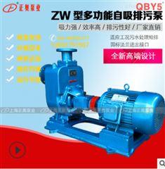 100ZW100-15防爆型铸铁自吸式排污泵污水泵