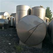 闲置出售二手50吨不锈钢储罐价格