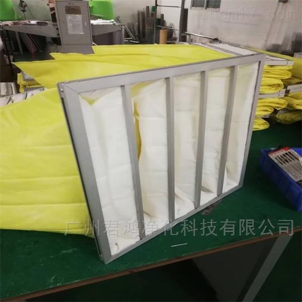清远市袋式中效过滤器君鸿厂家长期供应