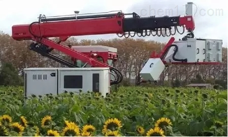 田间高通量植物表型机器人