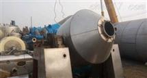 3000升回收出售二手不锈钢真空双锥干燥机价格