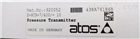 ATOS压力传感器原装现货E-ATR-7/100/I10