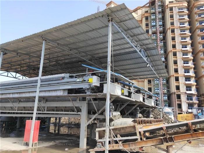 上海工地打桩泥浆固化设备压滤机